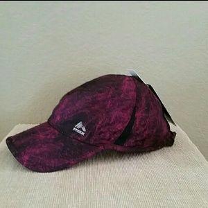 NWT RBX athletic hat purple black multi baseball
